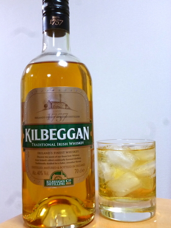 160122アイリッシュウイスキー キルベガン1.JPG