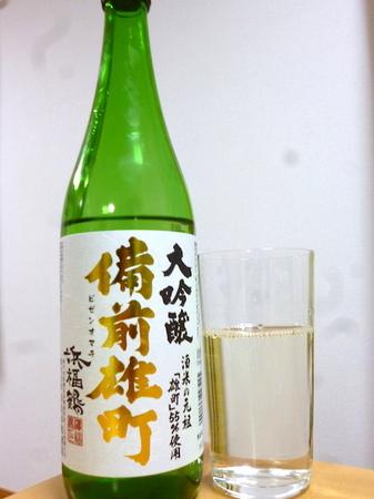 170327浜福鶴 大吟醸 備前雄町2.JPG