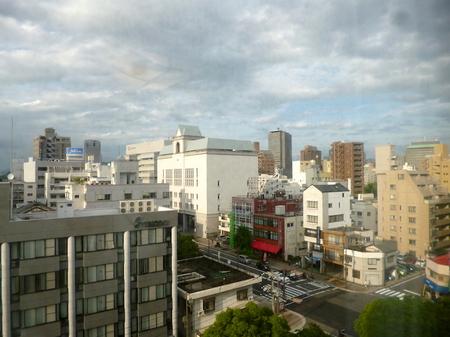 621広島空港からホテル6.JPG